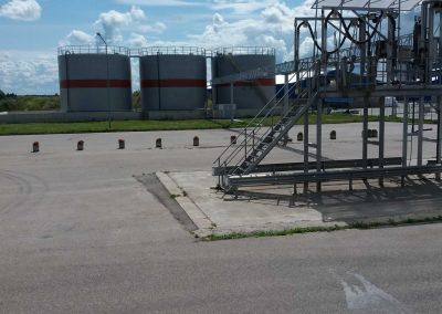 Skystų trąšų sandėlio su priklausiniais statyba Joniškio bazėje, adresu Alyvų g. Ziniūnų k., Joniškio sen.