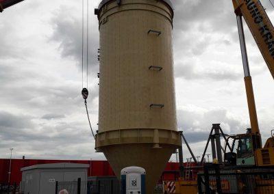 Kauno kogeneracinės jėgainės 350 m³ siloso bokštas