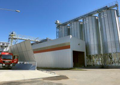 Šeduvos agrocentro, esančio Geležinio g. 9A, Radviliškio r. grūdų elevatoriaus išplėtimas.